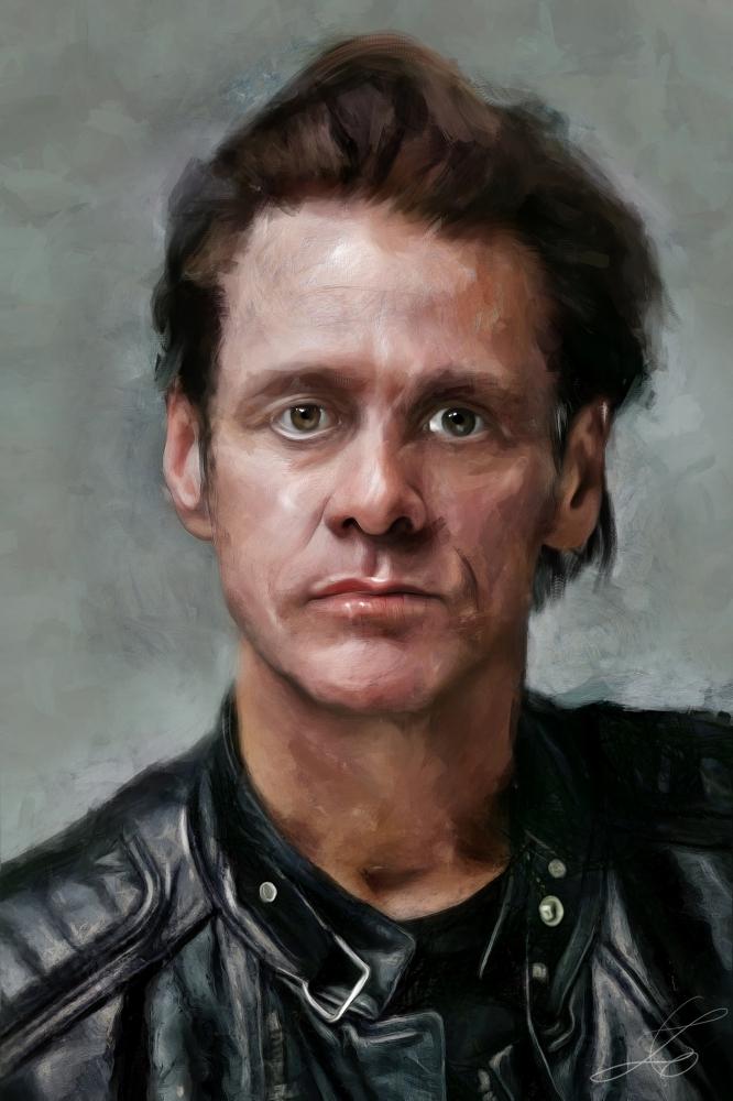Jim Carrey by z6ig